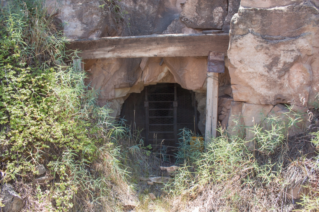Second shaft into the mine.
