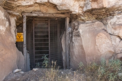 First entrance to the mine.